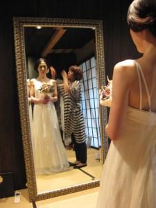 エシカルウェディングドレス